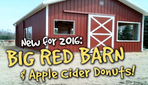 Big Red Barn & Apple Cider Donuts