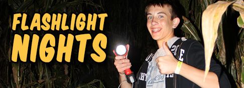 Flashlight Nights in the Maze